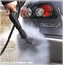 Mobile Car Wash Steamer